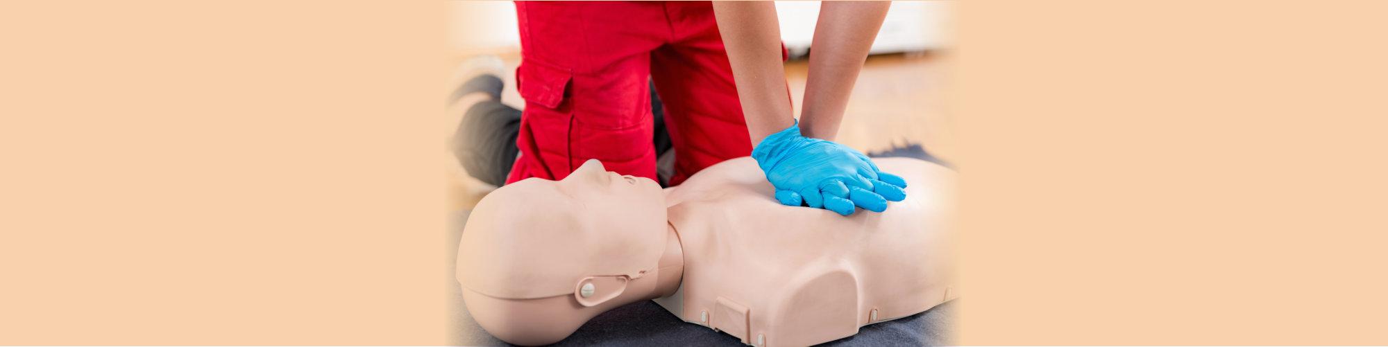 nurse on training